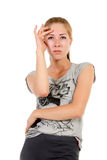 Νέος redhead έφηβος Στοκ φωτογραφίες με δικαίωμα ελεύθερης χρήσης