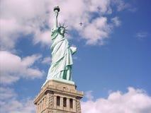 νέο άγαλμα ΗΠΑ Υόρκη ελευθερίας πόλεων Στοκ φωτογραφίες με δικαίωμα ελεύθερης χρήσης