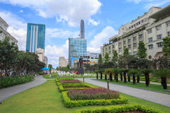 Νέο άγαλμα του Ho Chi Minh Στοκ Εικόνα