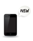 Νέο έξυπνο τηλέφωνο Στοκ εικόνες με δικαίωμα ελεύθερης χρήσης