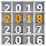 νέο έτος έννοιας απεικόνιση αποθεμάτων