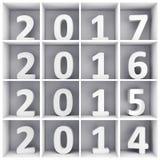 νέο έτος έννοιας διανυσματική απεικόνιση