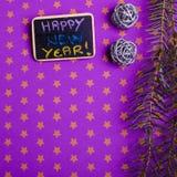νέο έτος ανασκόπησης Στοκ Φωτογραφία