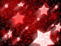 νέο έτος αστεριών Στοκ εικόνα με δικαίωμα ελεύθερης χρήσης