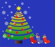 νέο έτος δέντρων του s Στοκ Εικόνα