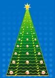 νέο έτος δέντρων του s Στοκ εικόνα με δικαίωμα ελεύθερης χρήσης