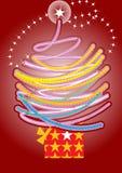 νέο έτος δέντρων ελεύθερη απεικόνιση δικαιώματος