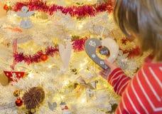 Νέο έτος διακοσμήσεων Χριστουγέννων στοκ εικόνες