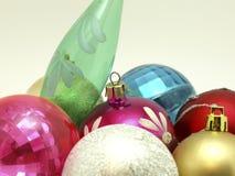 νέο έτος διακοσμήσεων χρώμ Στοκ εικόνες με δικαίωμα ελεύθερης χρήσης