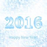 Νέο έτος 2016 εμβλημάτων Στοκ εικόνες με δικαίωμα ελεύθερης χρήσης
