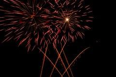 Νέο έτος εορτασμού πυροτεχνημάτων Στοκ φωτογραφία με δικαίωμα ελεύθερης χρήσης