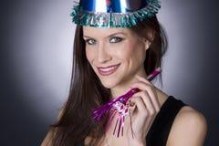 νέο έτος εορτασμού στοκ εικόνες