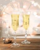 νέο έτος εορτασμού Στοκ Φωτογραφία