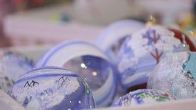 νέο έτος θέματος Το γυαλί κυλά το διαφορετικό σχέδιο φιλμ μικρού μήκους