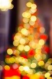 νέο έτος διακοσμήσεων Χριστουγέννων Μπιχλιμπίδι στο χριστουγεννιάτικο δέντρο Στοκ εικόνα με δικαίωμα ελεύθερης χρήσης