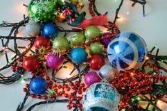 νέο έτος διακοσμήσεων Στοκ φωτογραφίες με δικαίωμα ελεύθερης χρήσης