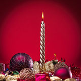 νέο έτος κεριών στοκ φωτογραφίες με δικαίωμα ελεύθερης χρήσης
