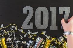 νέο έτος παραμονής του 2009 Στοκ φωτογραφίες με δικαίωμα ελεύθερης χρήσης