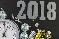 νέο έτος παραμονής του 2009 Στοκ Εικόνες