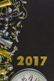νέο έτος παραμονής του 2009 Στοκ Εικόνα