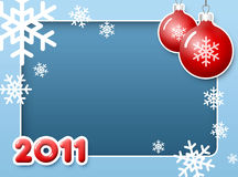 νέο έτος πλαισίων Στοκ Εικόνα
