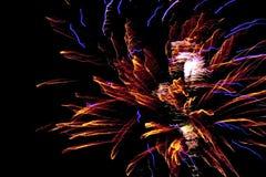νέο έτος πυροτεχνημάτων Στοκ Εικόνα