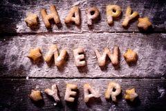 νέο έτος σημαδιών Στοκ Φωτογραφία