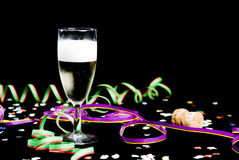 νέο έτος συμβαλλόμενων με στοκ φωτογραφία με δικαίωμα ελεύθερης χρήσης