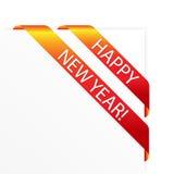 νέο έτος σχεδίου Στοκ εικόνα με δικαίωμα ελεύθερης χρήσης