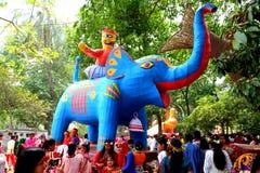 Νέο έτος 1422 του Μπανγκλαντές εορτασμός Στοκ φωτογραφία με δικαίωμα ελεύθερης χρήσης