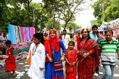 Νέο έτος 1422 του Μπανγκλαντές εορτασμός Στοκ Φωτογραφίες