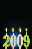 νέο έτος του 2009 Στοκ φωτογραφίες με δικαίωμα ελεύθερης χρήσης