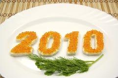 νέο έτος του 2010 Στοκ φωτογραφίες με δικαίωμα ελεύθερης χρήσης