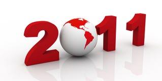 νέο έτος του 2011 ελεύθερη απεικόνιση δικαιώματος