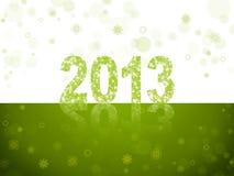 Νέο έτος του 2013 Στοκ Εικόνες