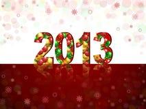Νέο έτος του 2013 Στοκ Φωτογραφίες