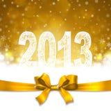 Νέο έτος του 2013 Στοκ φωτογραφίες με δικαίωμα ελεύθερης χρήσης