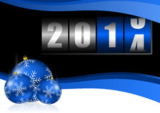νέο έτος του 2014 Στοκ Φωτογραφία