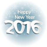 νέο έτος του 2016 Στοκ εικόνες με δικαίωμα ελεύθερης χρήσης