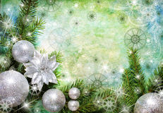 νέο έτος χαιρετισμών Στοκ φωτογραφία με δικαίωμα ελεύθερης χρήσης