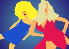 νέο έτος χορού διανυσματική απεικόνιση