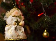 νέο έτος Χριστουγέννων Στοκ Εικόνες