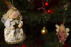 νέο έτος Χριστουγέννων Στοκ Φωτογραφίες