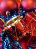 νέο έτος Χριστουγέννων Στοκ Φωτογραφία