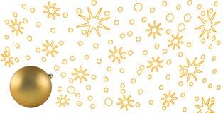 νέο έτος Χριστουγέννων απεικόνιση αποθεμάτων