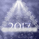 νέο έτος Χριστουγέννων Στοκ εικόνα με δικαίωμα ελεύθερης χρήσης