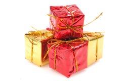 νέο έτος δώρων Στοκ Εικόνες