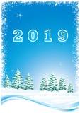 Νέο έτος 2019 Στοκ φωτογραφίες με δικαίωμα ελεύθερης χρήσης
