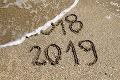 Νέο έτος 2019 στοκ εικόνα με δικαίωμα ελεύθερης χρήσης