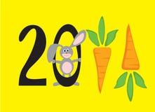 νέο έτος 2011 αριθμών Στοκ Φωτογραφία
